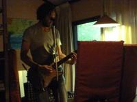 Opnames 2013 foto binnen bij de Chickenfarm studio