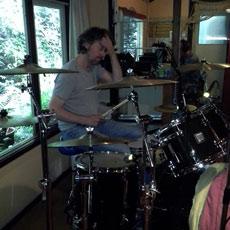 Opnames 2014 Bas Hagen Chef de batterie.