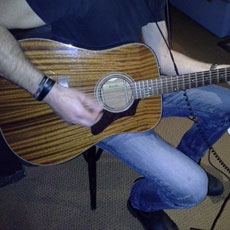 Opnames 2014 Guild acoustische gitaar.