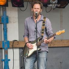 Foto van Muesca, live tijdens Keuken Karavaan in Apeldoorn 5 juli 2015.