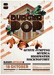 Burgerpop 2013 poster